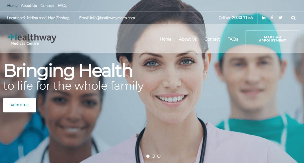 euridica web design